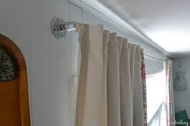 diy drop cloth curtains 2