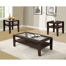 End Table And Coffee Table Set Red Barrel Studio Golder 3 Piece Coffee Table Set Reviews Wayfair