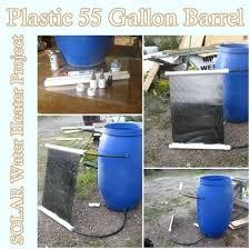 55 gallon water heater. Plastic 55 Gallon Barrel SOLAR Water Heater Project Homesteading - The Homestead Survival .Com \ B