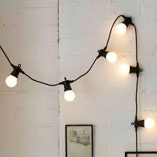 20 warm white led connectable festoon lights