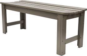 com shine company 5 ft backless garden bench burnt brown outdoor benches garden outdoor