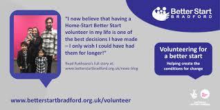 Volunteer support - the best decision I ever made! - Better Start ...