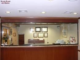 sliding office window. Lovable Reception Window Design Receptionist Sliding Windows With Stationary Panel Office N