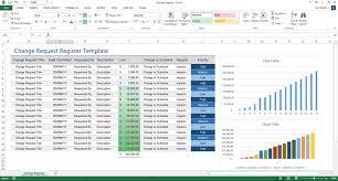 Change Request Log Excel Template Change Order Log Template