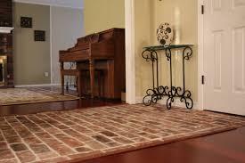 brick veneer flooring. This New Brick Veneer Entry Way Was Installed Along With Hardwood Flooring. A Sealer (Tile Lab) Applied After Installation. Flooring I