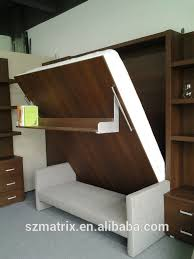 wall mount bed frame folding space saving vertical wall bedtransformer sofa bed view in