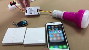 Inline Wireless Light Switch How To Install A Smart Home Light Switch Wifi Smart Switch With Rf 433mhz Remote Control Function