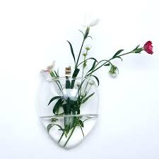 glass wall vases for flowers glass wall vases for flowers popular glass wall flower vase glass wall vases
