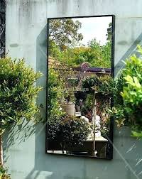 outdoors wall decor using mirrors outdoors home outdoor mirrors outdoor wall decor mirrors gardens home ideas