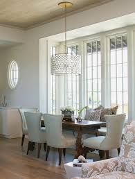 oly serena drum chandelier cottage dining room tracery interiors clever light modest 9