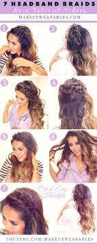 Quick Hairstyles For Braids Seven Cutest Headband Braids To Try In 2015 Hair Tutorial