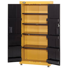 Adjustable Width Shelving 36 Wide Floor Cabinet With Shelves Cat Tool Storage