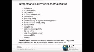 interpersonal savvy the socially emerging project manager high impact interpersonal
