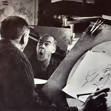 looking in mirror different reflection drawing. mirror-facial-expression-disney-animator-2 looking in mirror different reflection drawing