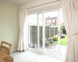 length of sliding glass door curtains rods for sliding glass doors medium size of curtain rods