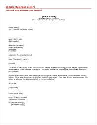 Blank Business Letter Template Filename Down Town Ken More