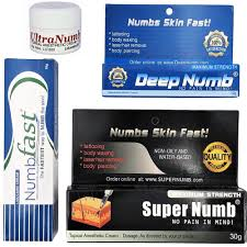 details about best numbing cream super deep fast ultra numb tattoo piercings waxing laser dr