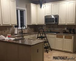 from to great a tale of painting oak cabinets pertaining to refinishing oak kitchen cabinets renovation