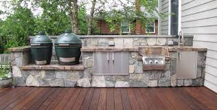 outdoor kitchens alexandria va jj landscape for big green egg outdoor kitchen