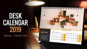 Wall Calendar Design Ideas 2019 2019 Calendar Design Calendar 2019 Desk Calendar Wall
