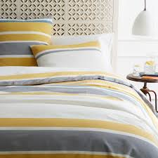 sol stripe sham west elm