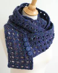 Crochet Patterns For Scarves Magnificent Window Pane Scarf Crochet Pattern By The Bees Knees Craftsy Crochet
