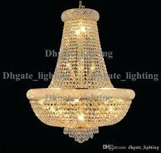 gold finish crystal chandelier light fixture modern chrome