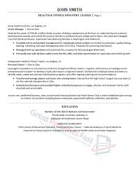 Persona Trainer Sample Resume Gorgeous Executive Resume Samples Professional Resume Samples