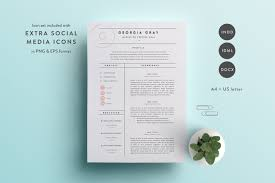 Resume Template 3 Page Cv Template Indd Docx By