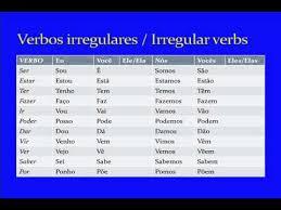Present Tense Verb Conjugations In Brazilian Portuguese