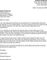 Nice Cover Letter Teaching Position Preschool Teacher Sample Best