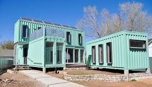 Example of amazing Storage Container Homes - convert these containers,  contain boxes, vessels to