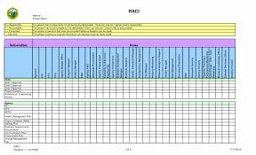 Raci Chart Template Excel Raci Chart Template Excel Modern Design Elegant Photos Of