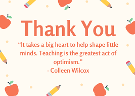 50 Thank You Messages for Preschool Teachers with Quotes |  FutureofWorking.com