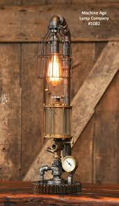 steampunk lighting. Lighting:Wonderful Steampunk Lamp Ideas Table Diy Parts List Shade Desk Kit Industrial Machine Age Lighting