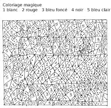 Unique Coloriage Magique De Loup Pour Cm1