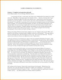 sample medical school essays   dtn info    personal statement for medical school examples