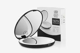 terresa lighted travel makeup mirror