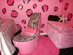 Pink And Black Girls Bedroom Black And Pink Girls Room Home Design Ideas