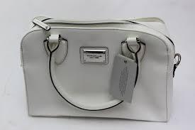 image 1 of 6 tignanello clean and classic saffiano leather satchel