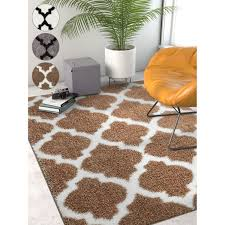 rug orange and white area rug luxury well woven modern lattice moroccan soft white grey