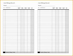 Irs Mileage Log Template Beautiful Mileage Spreadsheet For Irs