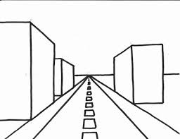 perspective drawings of buildings. Easy One Point Perspective Drawing Buildings 1 (Long Drawing) \u2013 (Clubanimeartist Drawings Of I