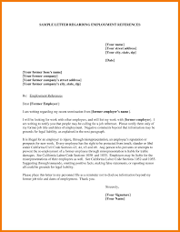 Professional References Template Letter Trakore Document Templates