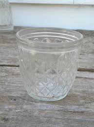 lot 4 vintage Ball Quilted Crystal jelly jars for jam and preserves &  Adamdwight.com