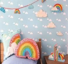 Amazing Rainbow Shaped Cushion Babys Childrens Nursery Room Girls Boys Sass U0026 Belle  New