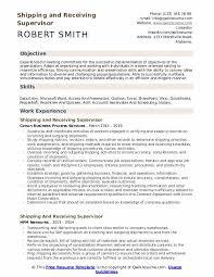 Sample Zoning Supervisor Resume Shipping And Receiving Supervisor Resume Samples Qwikresume