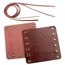 leather motorcycle hand grip cover wrap 7 8 1 for harley honda kawasaki suzuki