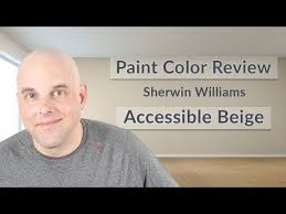 Sherwin Williams Accessible Beige Color Review Youtube