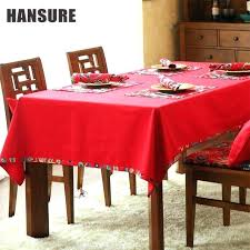 dining room table cloths red style tablecloths pattern decorative cloth cotton linen tablecloth 20 inch round